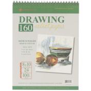 Global Art Spiral Drawing Pad, 20cm x 25cm