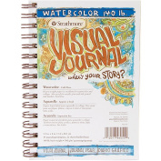 Strathmore Visual Journal Spiral Bound 14cm x 20cm -140# Watercolour
