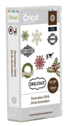 Provo Craft Cricut Mini Seasonal Shape Cartridge, December 25th By Teresa Collins