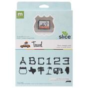Making Memories Slice Design Card, Travel USA