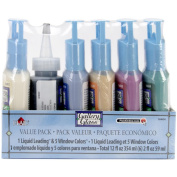 Gallery Glass Window Colour Paint Set, Decorator Colours