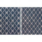 Spellbinders M-Bossabilities A2 Card Embossing Folder-Lovely Lattice