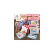 Webster's Pages Citrus Squeeze Mini Folders & Cards Set, 5 Folders & 10 Cards