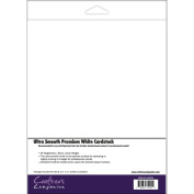 Crafters Companion Ultra-Smooth Premium White Cardstock, 50Pk