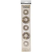 Sizzix Sizzlits Decorative Strip Die By Tim Holtz-Mini Paper Rosettes 32cm x 6cm