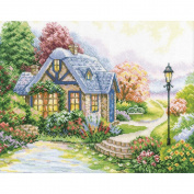 RTO Home Sweet Home Counted Cross-Stitch Kit, 34cm x 27cm , 14 Count