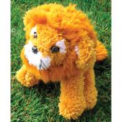 Huggables Lion Stuffed Toy Latch Hook Kit, 41cm Long