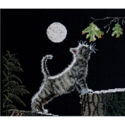 Bucilla Counted Cross Stitch Kit, Max's Moon