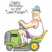 Art Impressions People Cling Rubber Stamp, The Lawn Ranger Set