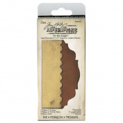 Sizzix On The Edge Die By Tim Holtz, Plaque & Postage