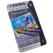 Lyra Aquacolor Watersoluble Crayons, 12pk