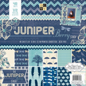 Juniper Berry Paper Stack, 30cm x 30cm , 48pk