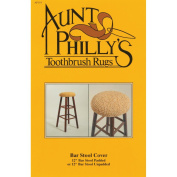 Aunt Philly's Toothbrush Rugs-Bar Stool Cover