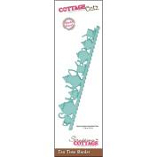 CottageCutz Border Die 2.5cm x 18cm -Tea Time Made Easy