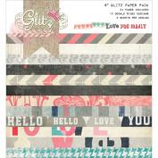 Glitz Design Love You Madly Paper Pad, 15cm x 15cm