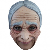 Creepy Old Lady Grandma Halloween Mask