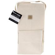 Mark Richards Lunch Bag, Natural, 28cm x 25cm x 13cm
