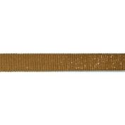 C'est Joli! Ruban Scintilla Ribbon, Mustard Gold 1.6cm x 3.28 yds