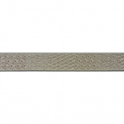 C'est Joli! Ruban Nubian Ribbon, Beige Multi, 1.6cm x 3.28 yds