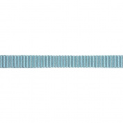 C'est Joli! Ruban Filou Ribbon, Blue/Grey, 1cm x 27 yds