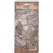 French Industrial Salvage Stickers by Tim Holtz Idea-ology, 72 Stickers, Paper, Multicoloured, TH93053