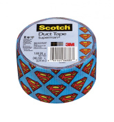 Scotch Duct Tape, Superman, 4.8cm by 10-Yard