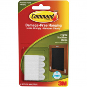 Command Frame Stabiliser Strips, White