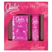 Charlie Pink 30ml Eau de Toilette and Body Spray Gift Set.