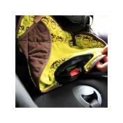 Close Parent Car Seat Protector- Monkey