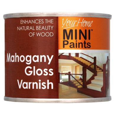 mahogany gloss varnish paint tub ideal interior exterior wood care. Black Bedroom Furniture Sets. Home Design Ideas