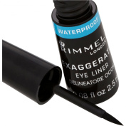 Rimmel Exaggerate Liquid Eye Liner - Waterproof Black
