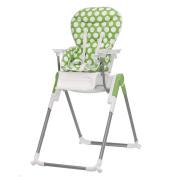 Obaby Nanofold Highchair - Dotty Lime