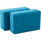 Lotus Yoga Blocks, Blue