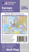 Europe Wall Map (OS Wall Map)