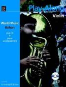 World Music Balkan Play-along Violin