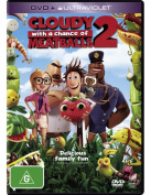 Cloudy With a Chance of Meatballs 2  [Region 4]