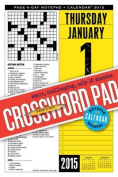 Crossword Page-A-Day Notepad + Calendar
