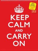 Keep Calm and Carry on Poster Calendar