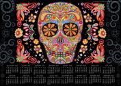 Sugar Skulls 2014-15 Calendar Poster