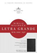 Biblia Bilingue Letra Grande-PR-Rvr 1960/KJV [Large Print] [Spanish]