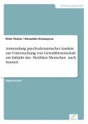 Anwendung Psychodynamischer Ansatze Zur Untersuchung Von Gewaltbereitschaft Am Subjekt Des Flexiblen Menschen Nach Sennett [GER]