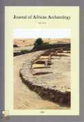 Journal of African Archaeology 3 (1)