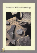 Journal of African Archaeology 6 (1)