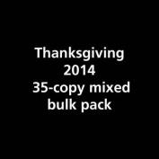 Thanksgiving 2014 35c Bulk Pack