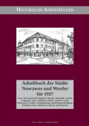 Adressbuch Der Stadte Nowawes Und Werder Fur 1927 [GER]