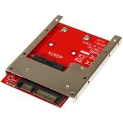 STARTECH SAT32MSAT257 mSATA SSD to 2.5IN SATA Adapter Converte