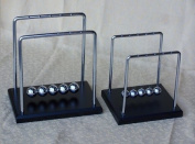 Balance Balls (Newton's Cradle) Wood Base Large