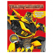 Transformers 4 Sticker Activity Book