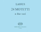 24 Two-Part Motets Latin 2 Part