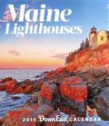 Maine Lighthouses Calendar
